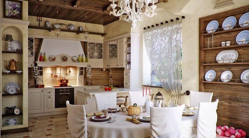кухня и кантри стиль