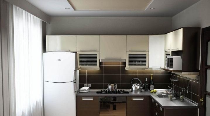 компактная мебель на кухне