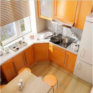 мебель в маленькой кухне